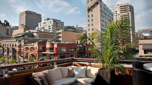 Les plus beaux rooftops de Montréal à découvrir pendant ton stage au Canada !
