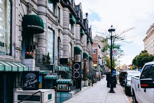 rue Sherbrooke - Montréal