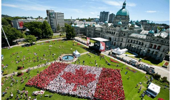 Découvre Victoria durant ton stage au Canada
